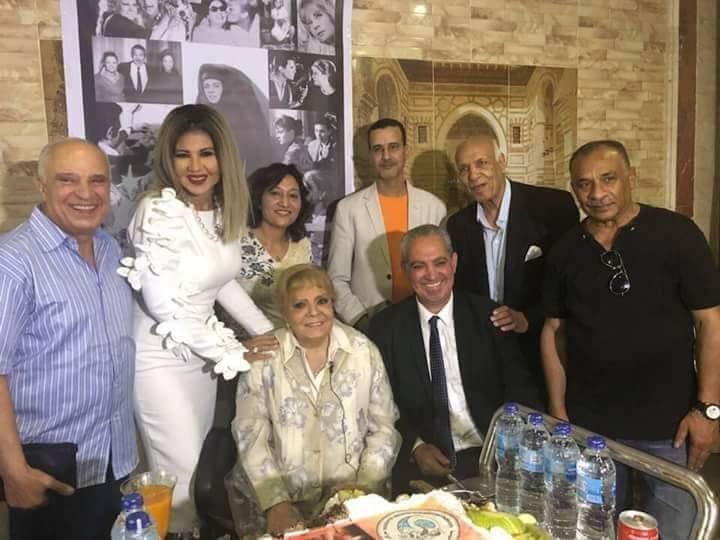 إدارة مهرجان الإسكندرية لدول البحر المتوسط  تهدى الدورة الرابعة والثلاثين للفنانة نادية لطفى
