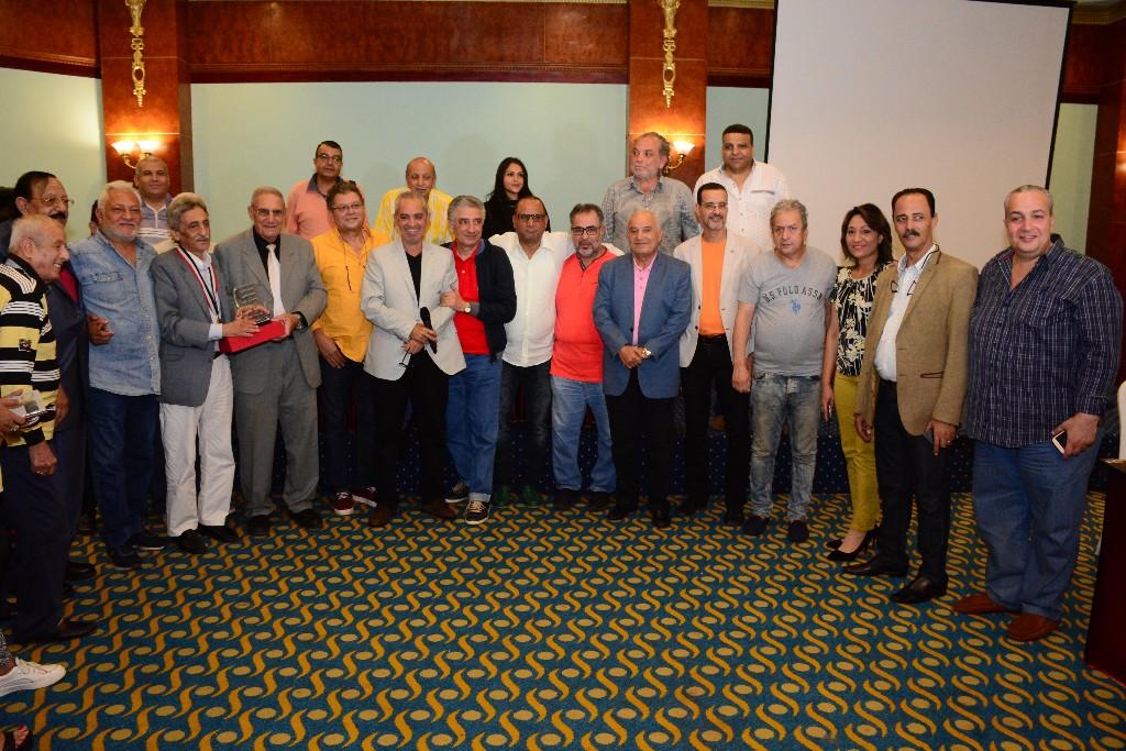 ندوة تكريم المخرج الكبير احمد يحيي بالاسكندرية السينمائى